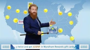 Wyndham Rewards TV Spot, 'Forecast' Featuring Kristofer Hivju