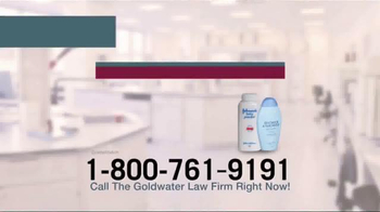 Goldwater Law Firm TV Spot, 'Talcum Powder: Ovarian Cancer' - Thumbnail 1