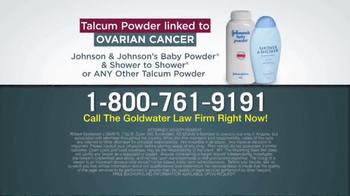 Goldwater Law Firm TV Spot, 'Talcum Powder: Ovarian Cancer' - Thumbnail 10