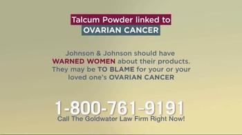 Goldwater Law Firm TV Spot, 'Talcum Powder: Ovarian Cancer' - Thumbnail 7