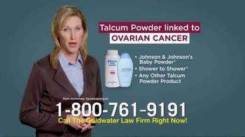 Goldwater Law Firm TV Spot, 'Talcum Powder: Ovarian Cancer' - Thumbnail 8