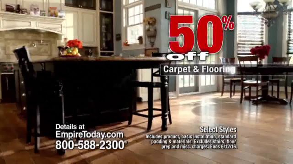 Empire Today 50 50 50 Sale Tv Commercial Won T Last Long Video