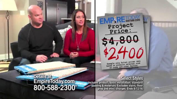 Empire Today 50/50/50 Sale TV Spot, 'Won't Last Long' - Thumbnail 4