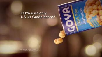 Goya Low Sodium Chick Peas TV Spot, 'Melissa & Tony' - Thumbnail 6