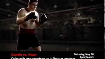 Fios by Verizon Pay-Per-View TV Spot, 'Canelo vs. Khan' - Thumbnail 1