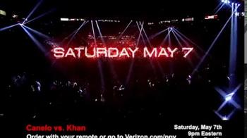 Fios by Verizon Pay-Per-View TV Spot, 'Canelo vs. Khan' - Thumbnail 2