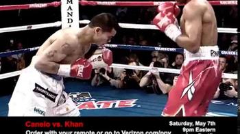 Fios by Verizon Pay-Per-View TV Spot, 'Canelo vs. Khan' - Thumbnail 3