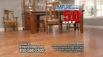 Empire Today 50/50/50 Sale TV Spot, 'Real Customers' - Thumbnail 3