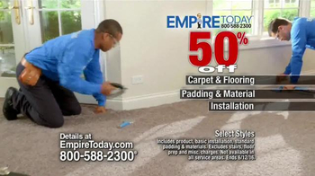 Empire Today 50/50/50 Sale TV Spot, 'Real Customers' - Thumbnail 4