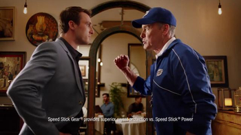 Speed Stick TV Spot, 'First Date' Featuring John C. McGinley - 216 commercial airings