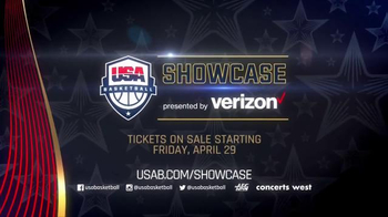 AEG Live TV Spot, '2016 USA Basketball Showcase' - Thumbnail 8