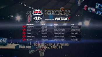 AEG Live TV Spot, '2016 USA Basketball Showcase' - Thumbnail 6