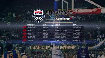 AEG Live TV Spot, '2016 USA Basketball Showcase' - Thumbnail 7