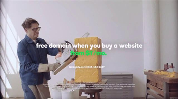GoDaddy TV Spot, 'Go You: Heads of Cheese' - Thumbnail 9