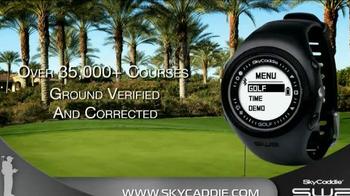 Sky Caddie SW2 TV Spot, 'Measure Yardage' - Thumbnail 1