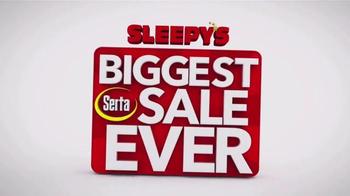 Sleepy's Biggest Serta Sale Ever TV Spot, 'Entire Selection' - Thumbnail 1