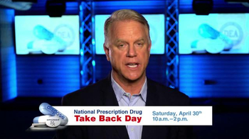 DEA National Prescription Drug Take Back Day TV Spot, 'Turn In Your Meds'