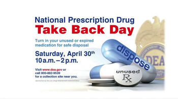 DEA National Prescription Drug Take Back Day TV Spot, 'Turn In Your Meds' - Thumbnail 9