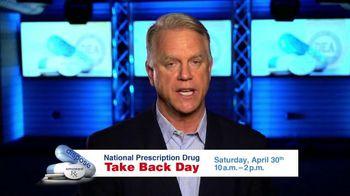 DEA National Prescription Drug Take Back Day TV Spot, 'Turn In Your Meds'
