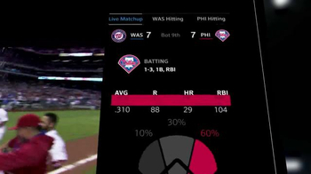 XFINITY X1 TV Spot, 'Professional MLB Watcher: MLB Extra Innings' - Thumbnail 4