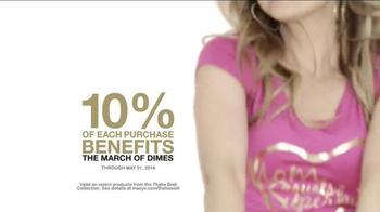 Macy's TV Spot, 'Thalia Sodi Collection: March of Dimes' Feat. Thalía Sodi - Thumbnail 5