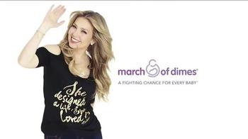Macy's TV Spot, 'Thalia Sodi Collection: March of Dimes' Feat. Thalía Sodi - Thumbnail 6