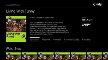 XFINITY X1 TV Spot, 'Oxygen Shows' - Thumbnail 5