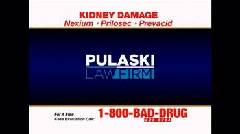Pulaski & Middleman TV Spot, 'Kidney Damage' - Thumbnail 1