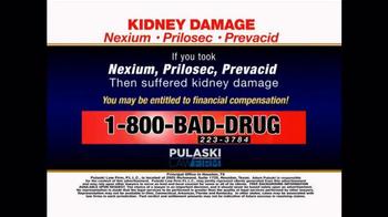Pulaski & Middleman TV Spot, 'Kidney Damage' - Thumbnail 6