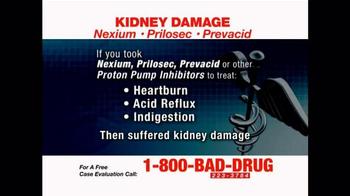 Pulaski & Middleman TV Spot, 'Kidney Damage'