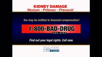 Pulaski & Middleman TV Spot, 'Kidney Damage' - Thumbnail 4