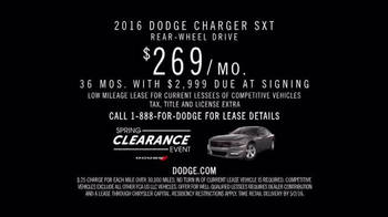 Dodge Spring Clearance Event TV Spot, 'Rumble of Dodges' - Thumbnail 7