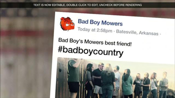 Bad Boy Mowers TV Spot, 'What's Your Bad Boy Country?' - Thumbnail 3
