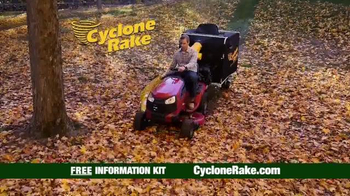 Cyclone Rake TV Spot, 'Spring 2016'