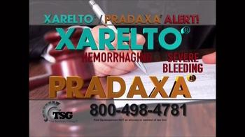 The Sentinel Group TV Spot, 'Xarelto & Pradaxa Alert' - Thumbnail 8
