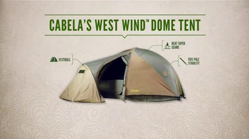 Cabela's West Wind Dome Tent TV Spot, 'Lake Side Getaway' - Thumbnail 7