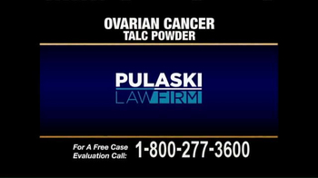 Pulaski & Middleman TV Spot, 'Ovarian Cancer' - Thumbnail 1