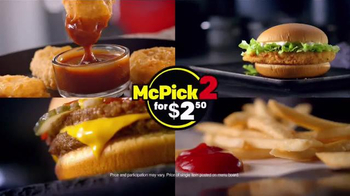 McDonald's McPick 2 TV Spot, 'Pick Two From Four Great Choices' - Thumbnail 8