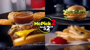 McDonald's McPick 2 TV Spot, 'Pick Two From Four Great Choices' - Thumbnail 9