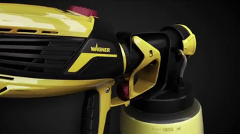 Wagner FLEXiO Sprayer 590 TV Spot, 'Even Finish' - Thumbnail 1