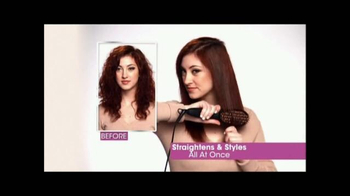 Perfectly Straight TV Spot, 'Brush Your Hair Straight' - Thumbnail 4