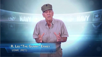U.S. Department of Labor TV Spot, 'Hire a Veteran Today' Feat. R. Lee Ermey - Thumbnail 1