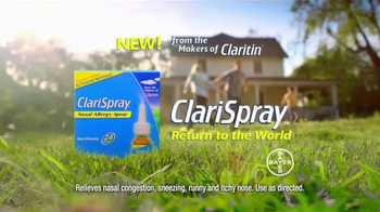 Claritin ClariSpray TV Spot, 'Going to Extremes' - Thumbnail 8