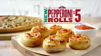 Papa John's Pepperoni Rolls TV Spot, 'Surprises' - Thumbnail 3