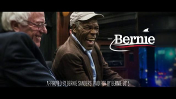 Bernie 2016 TV Spot, 'He's With Us' Featuring Danny Glover - Thumbnail 8