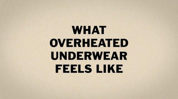 Duluth Trading Armachillo Underwear TV Spot, 'Put 'Em on Ice' - Thumbnail 1