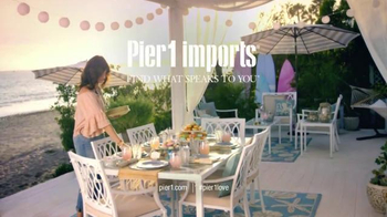 Pier 1 Imports TV Spot, 'Take Entertaining Outdoors'