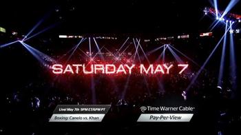 Time Warner Cable Pay-Per-View TV Spot, 'Boxing: Canelo vs. Khan' - Thumbnail 5