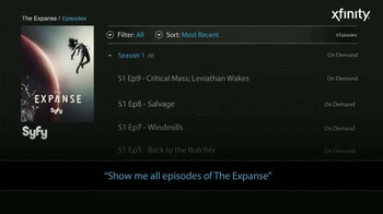 XFINITY X1 TV Spot, 'Syfy Is Easy to Find' - Thumbnail 2