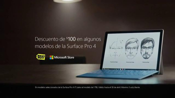 Microsoft Surface Pro 4 TV Spot, 'La artista forense' [Spanish] - Thumbnail 10
